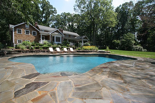 Pugliese Pools Traditional pool design
