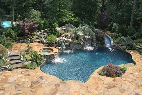 Pugliese Pools Natural Look